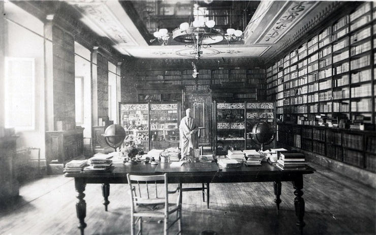 The library before 1927 photo 2