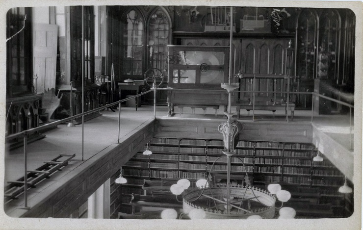 The library before 1927 photo 4